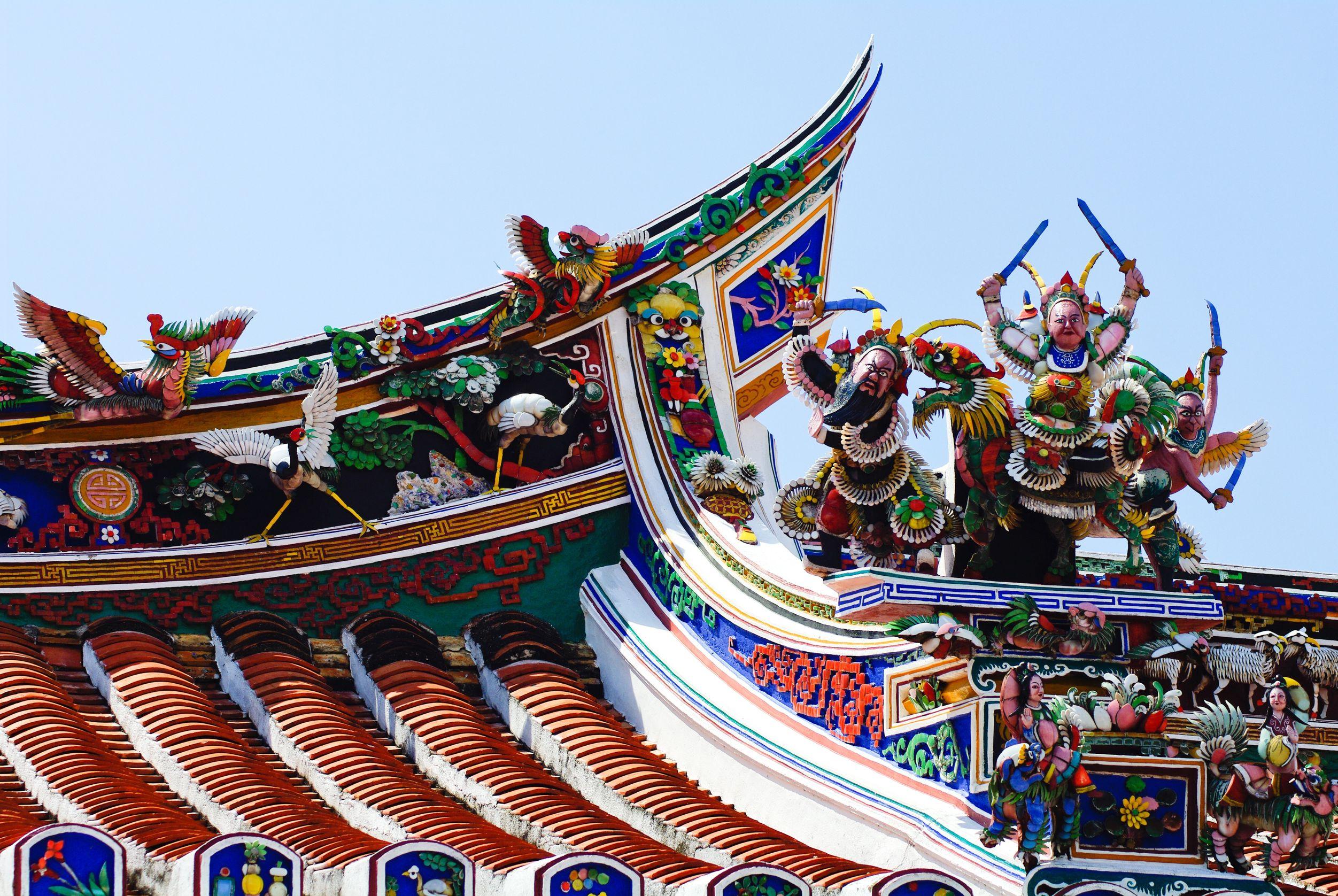 Cheng-Hoon-Teng-Temple-Roof