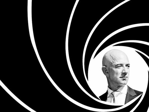 Jeff Bezos Nabs James Bond