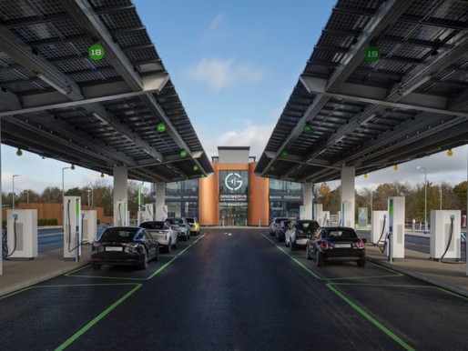 UK's First EV Only Forecourt Opens