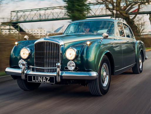 World's First Classic Electric Bentley