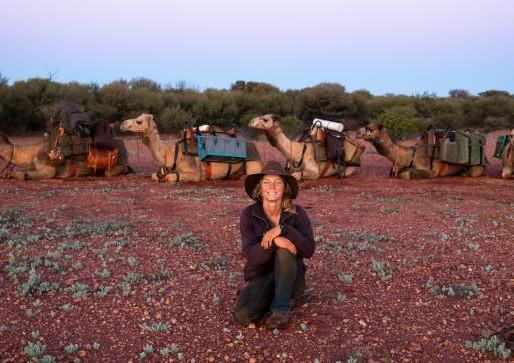 Woman Trekking 5,000km Across Australia Alone