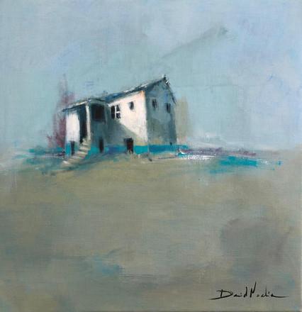 HOME IV, acrylic over canvas. (40x40cm)