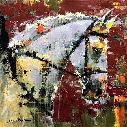 CAB III, acrylic over canvas. (60x60cm)