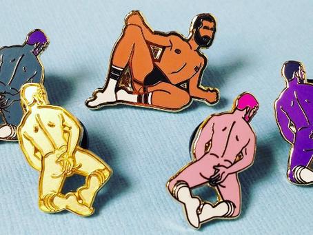 Sexy pins... au masculin !