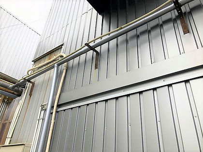 水道配管凍結対策の保温工事