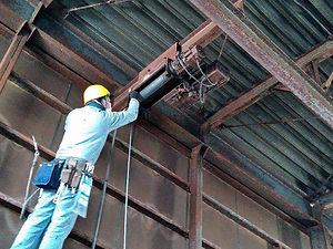 天井クレーン修理