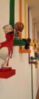 current exhibits, past exhibits, future exhibits
