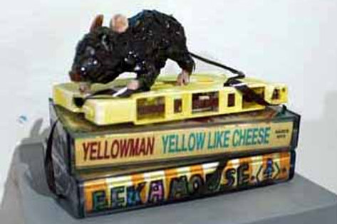 Yellow Like Cheese-Yellowman by Kelly Vetter