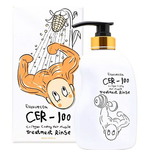 Кондиционер для волос с коллагеном Elizavecca CER-100 Collagen Coating Hair Musc