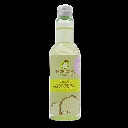 Кокосовое масло для лица, тела и волос с ароматом лаванды TROPICANA