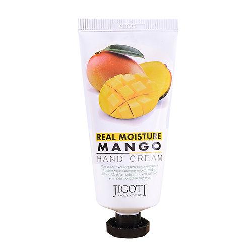 Увлажняющий крем для рук с манго Jigott Real Moisture Hand Cream