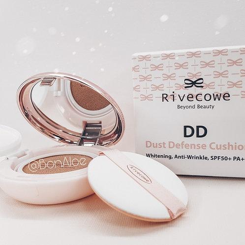 Многофункциональный тональный кушон RIVECOWE Beyond Beauty DD Dust Defense Cushi