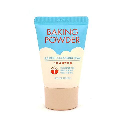 Пенка для умывания тройного действия Etude House Baking Powder Pore Cleansing Fo