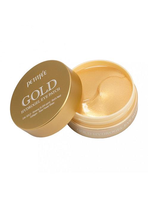 Патчи гидрогелевые для кожи вокруг глаз с золотом Petitfee Gold Hydrogel Eye Pat