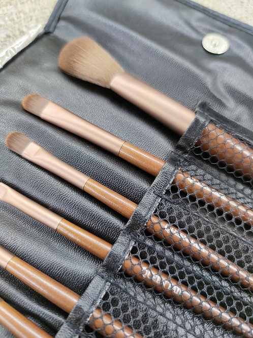 Набор кистей для макияжа 7 шт.  в футляре