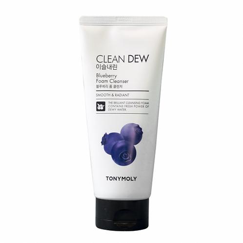 Пенка для умывания с экстрактом черники Tony Moly Clean Dew Blueberry Foam Clean