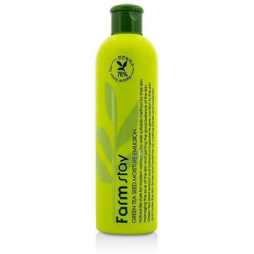 Увлажняющий тоник для лица с семенами зеленого чая FarmStay Green Tea