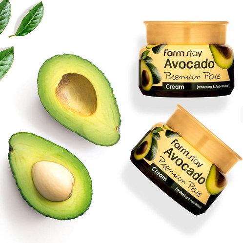 Лифтинг - крем для лица с авокадо Farm Stay Avocado