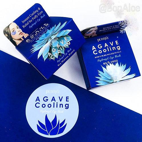 Охлаждающие гидрогелевые патчи с экстрактом агавы Petitfee