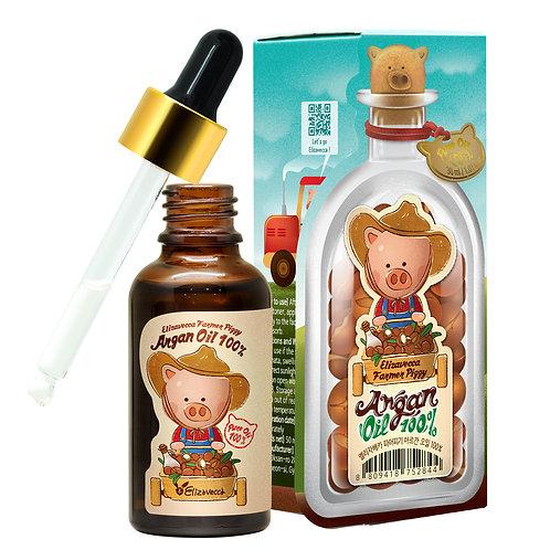Аргановое масло 100% Elizavecca Farmer Piggy Argan Oil, 30 ml.