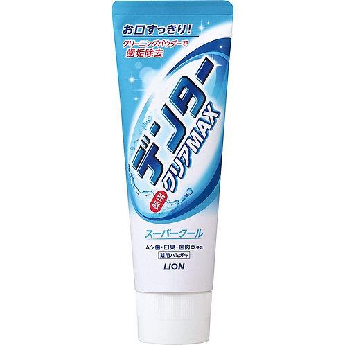Зубная паста СУПЕРОХЛАЖДАЮЩАЯ Dentor Clear MAX Super Cool, 140г Япония