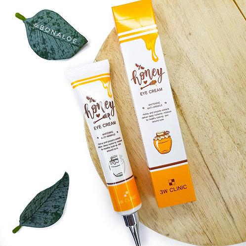 Увлажняющий крем для век с медом  3W Clinic Honey Eye Cream