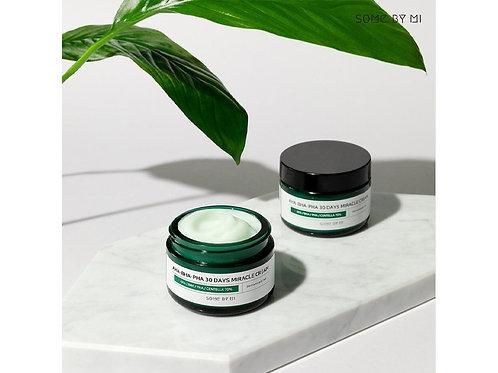 Восстанавливающий крем для проблемной кожи Some By Mi AHA-BHA-PHA 30 Days Miracl