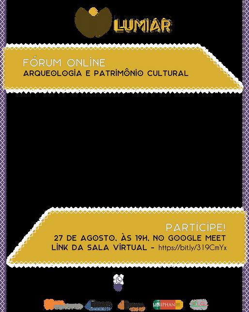 Fóruns Online - Arqueologia e Patrimônio Cultural