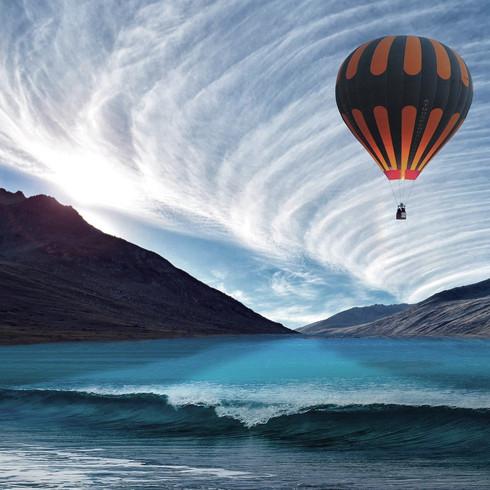 the reckless hot air balloon