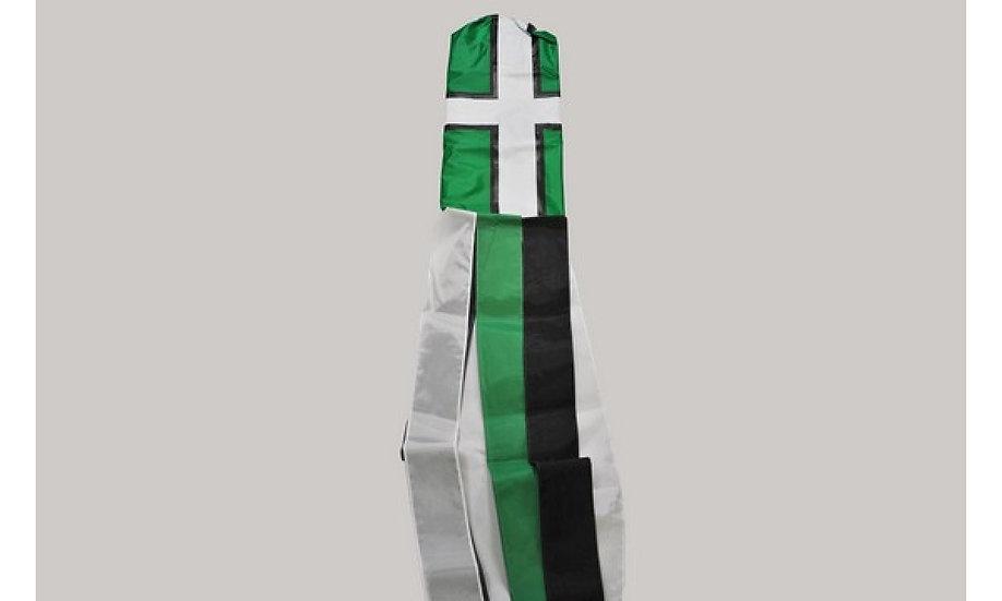 Devonshire Flag Windsock
