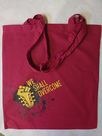 We Shall Overcome 2021 Logo Tote Bag