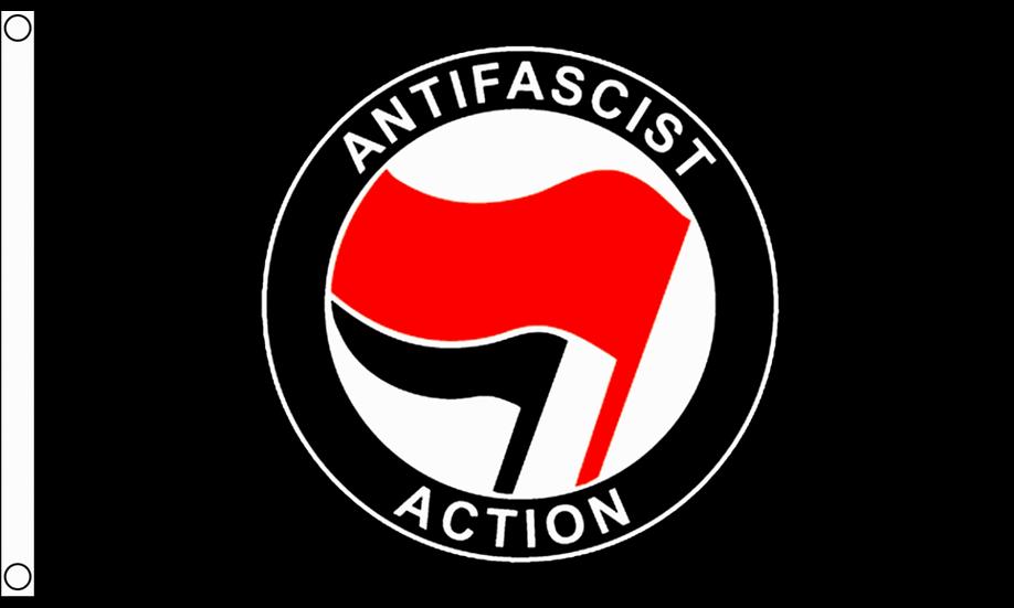 Antifascist Action Flag