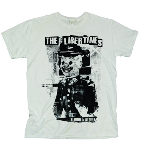 THE LIBERTINES UNISEX TEE: ALBION TO UTOPIA
