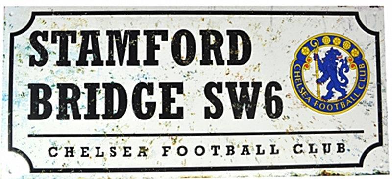 Chelsea Stamford Bridge Street Sign