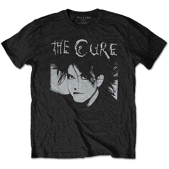 THE CURE UNISEX TEE: ROBERT ILLUSTRATION