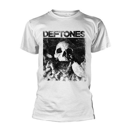 Deftones White Skull