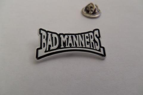 Bad Manners B/W  Enamel Badge