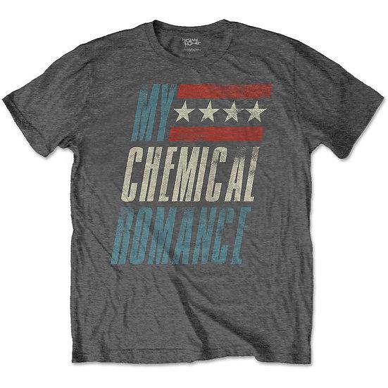 MY CHEMICAL ROMANCE UNISEX TEE: RACEWAY