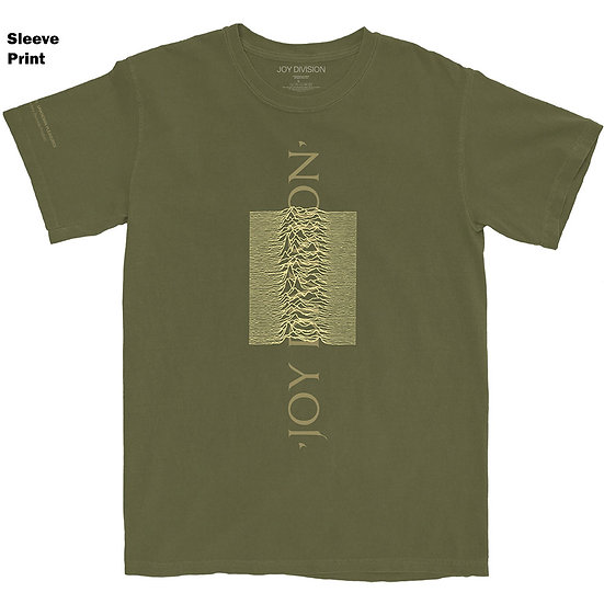 JOY DIVISION UNISEX TEE: BLENDED PULSE (ARM PRINTS)