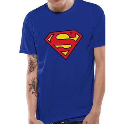 Superman Logo Tee - Royal Blue