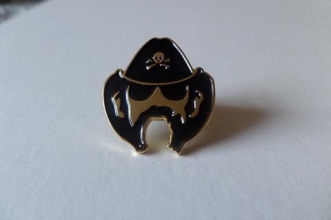Lemmy Enamel Badge