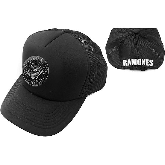 RAMONES UNISEX BASEBALL CAP: PRESIDENTIAL SEAL (MESH BACK)