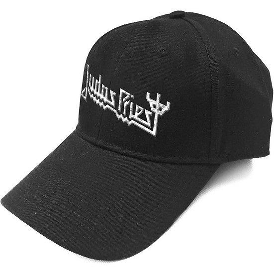 JUDAS PRIEST UNISEX BASEBALL CAP: LOGO (SONIC SILVER)