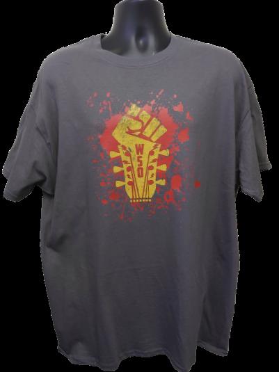 WSO2021 T shirt Version 2  Charcoal Grey