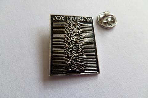 Joy Division unknown pleasures  Enamel Badge