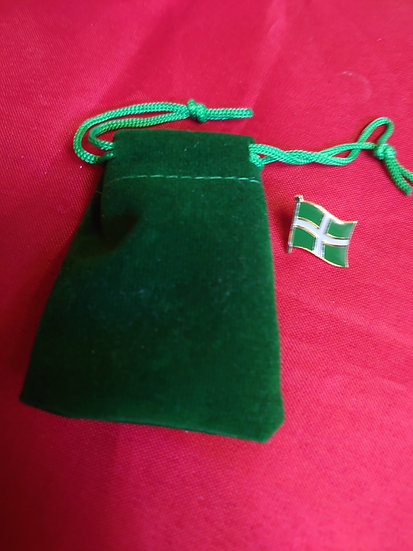 Devon Flag with presentation gift bag