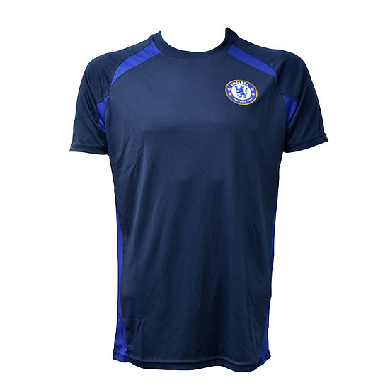 Chelsea Navy Panel Training top OFFICIAL