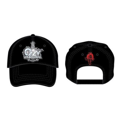 OZZY OSBOURNE UNISEX BASEBALL CAP: CREST