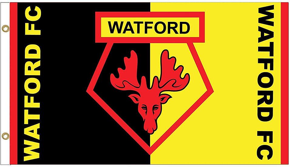 Watford Flag 5ft x 3ft