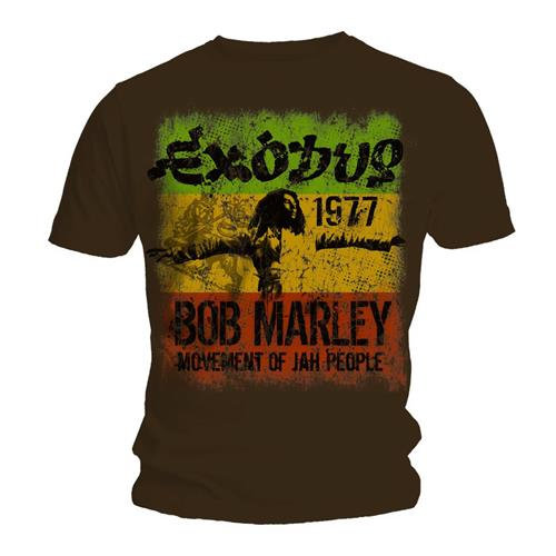 BOB MARLEY UNISEX TEE: MOVEMENT